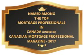 Canadian Mortgage Professionals Award